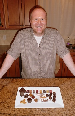 Jeremy and his delicious   Spindler Confections   creations!