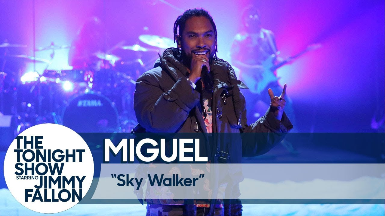 MIGUEL | The Tonight Show Starring Jimmy Fallon