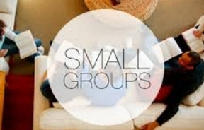Join a small group and get connected.