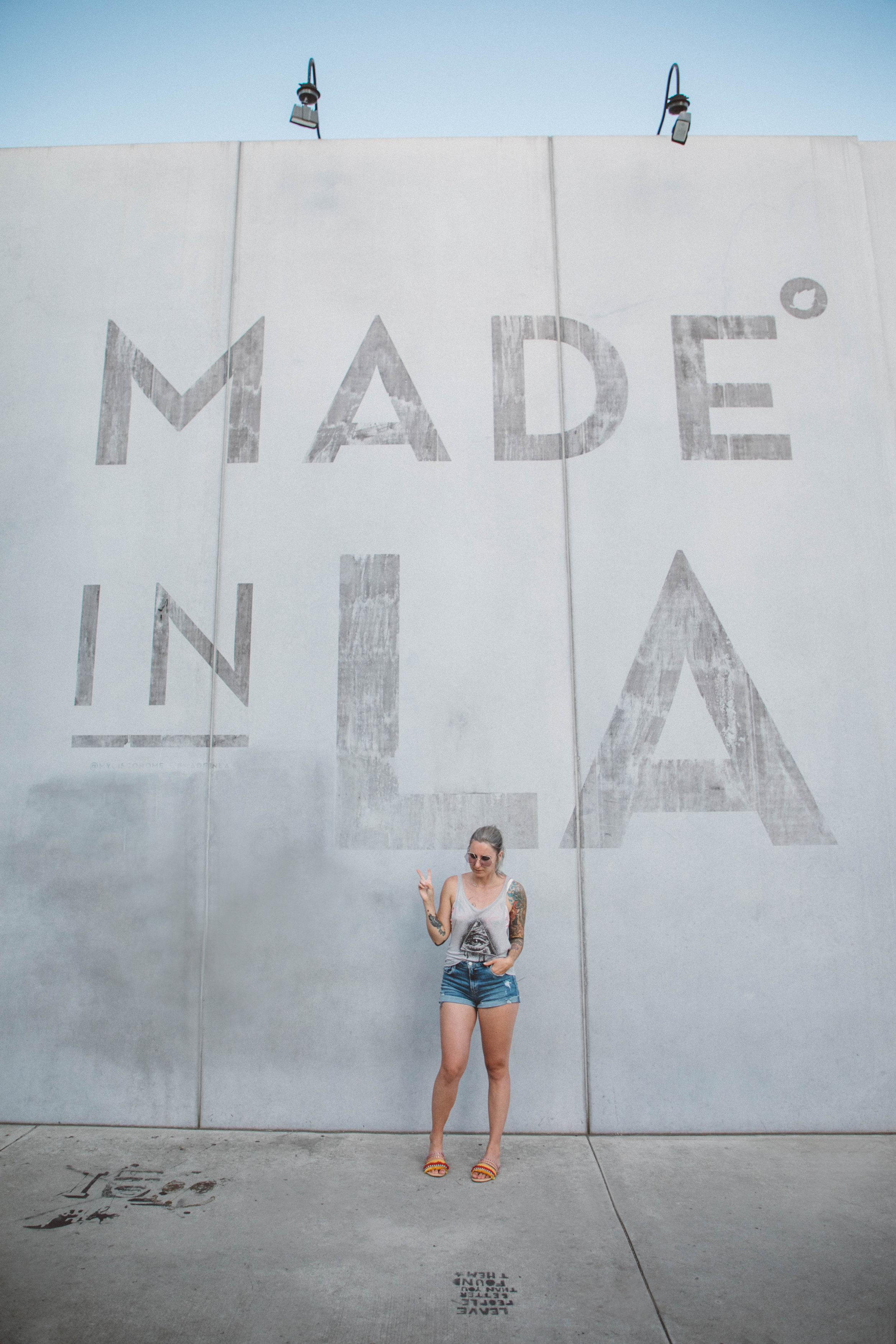 Made in LA Los Angeles street art
