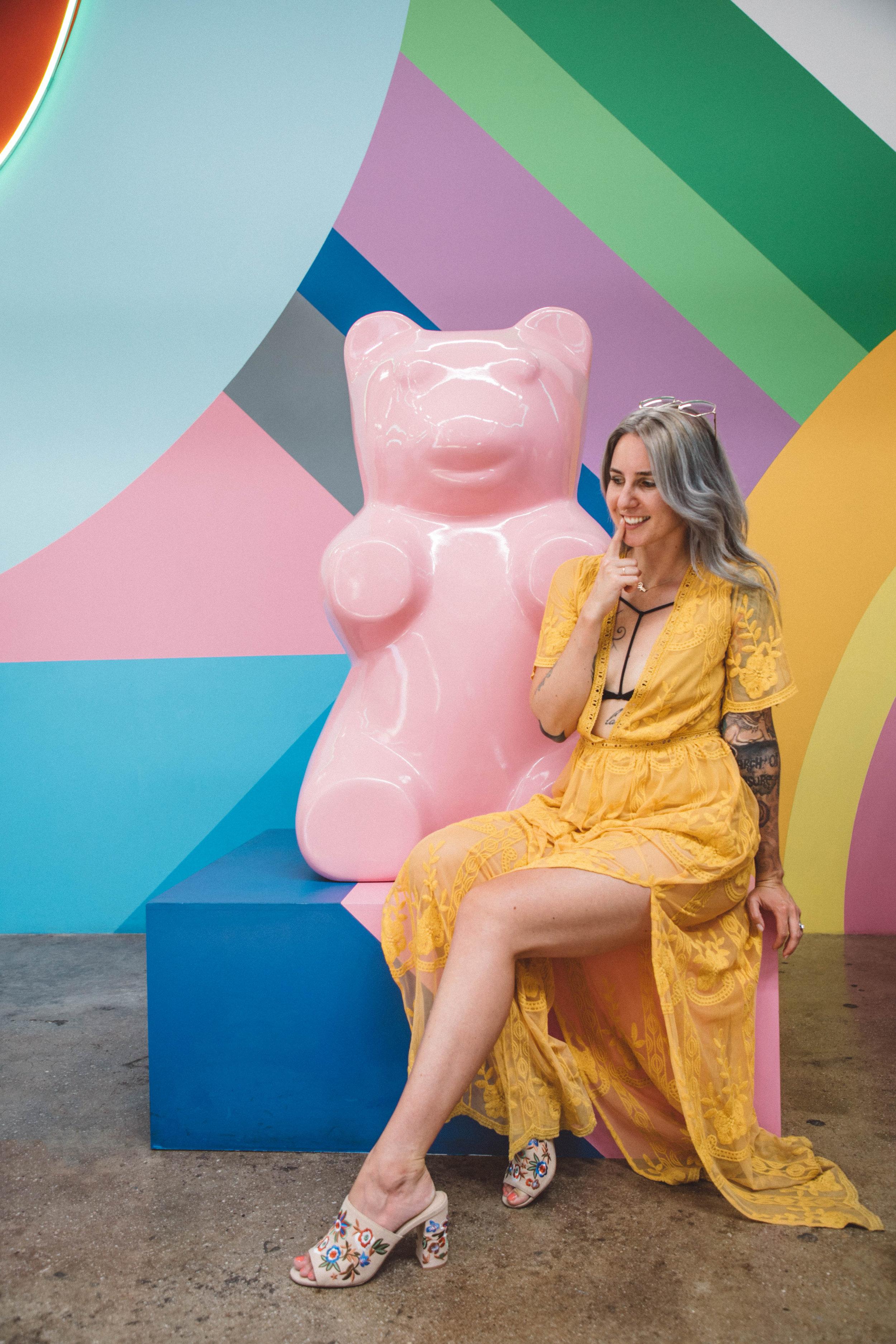 Museum of Ice Cream Los Angeles art