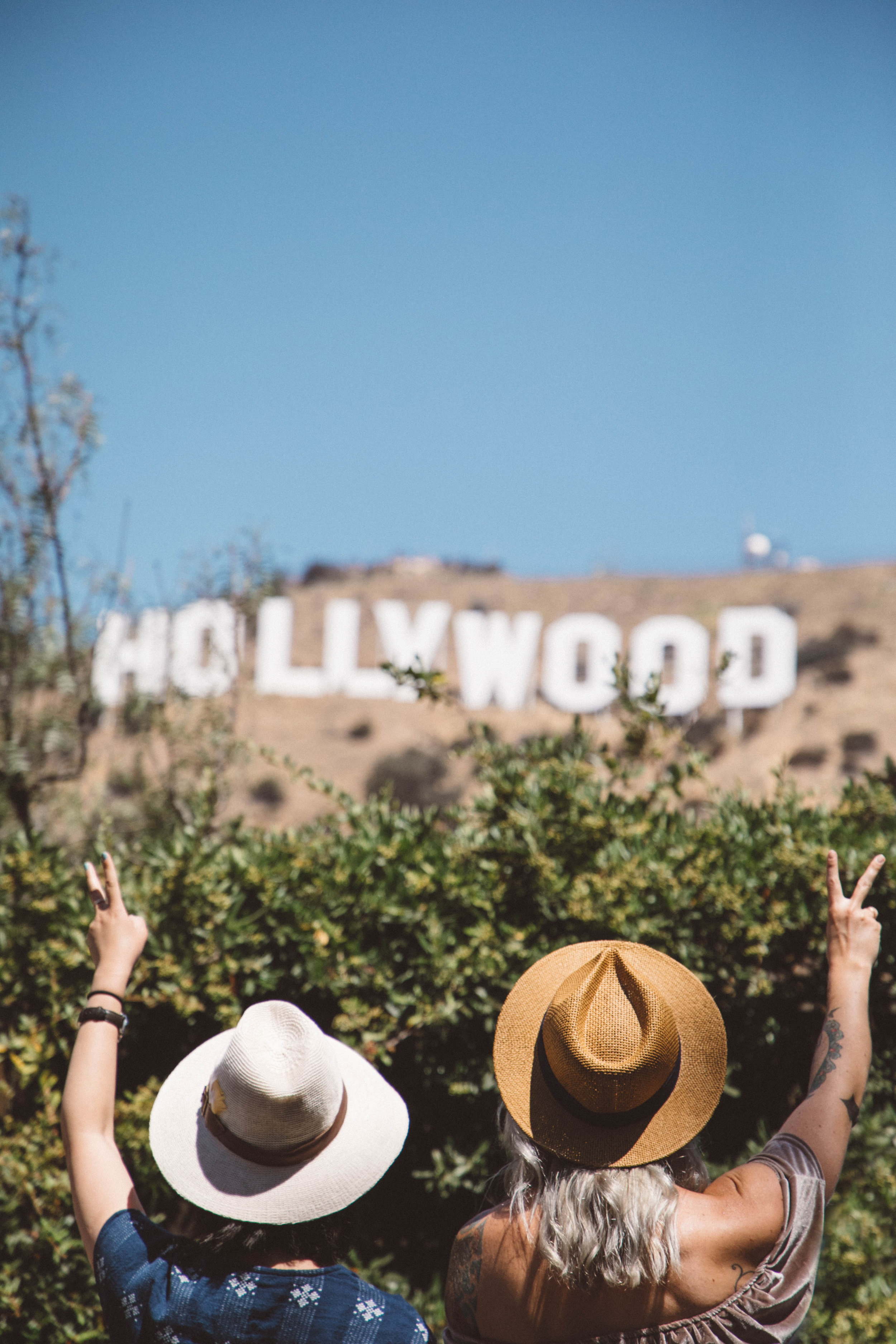 Hollywood sign Los Angeles lifestyle blogger