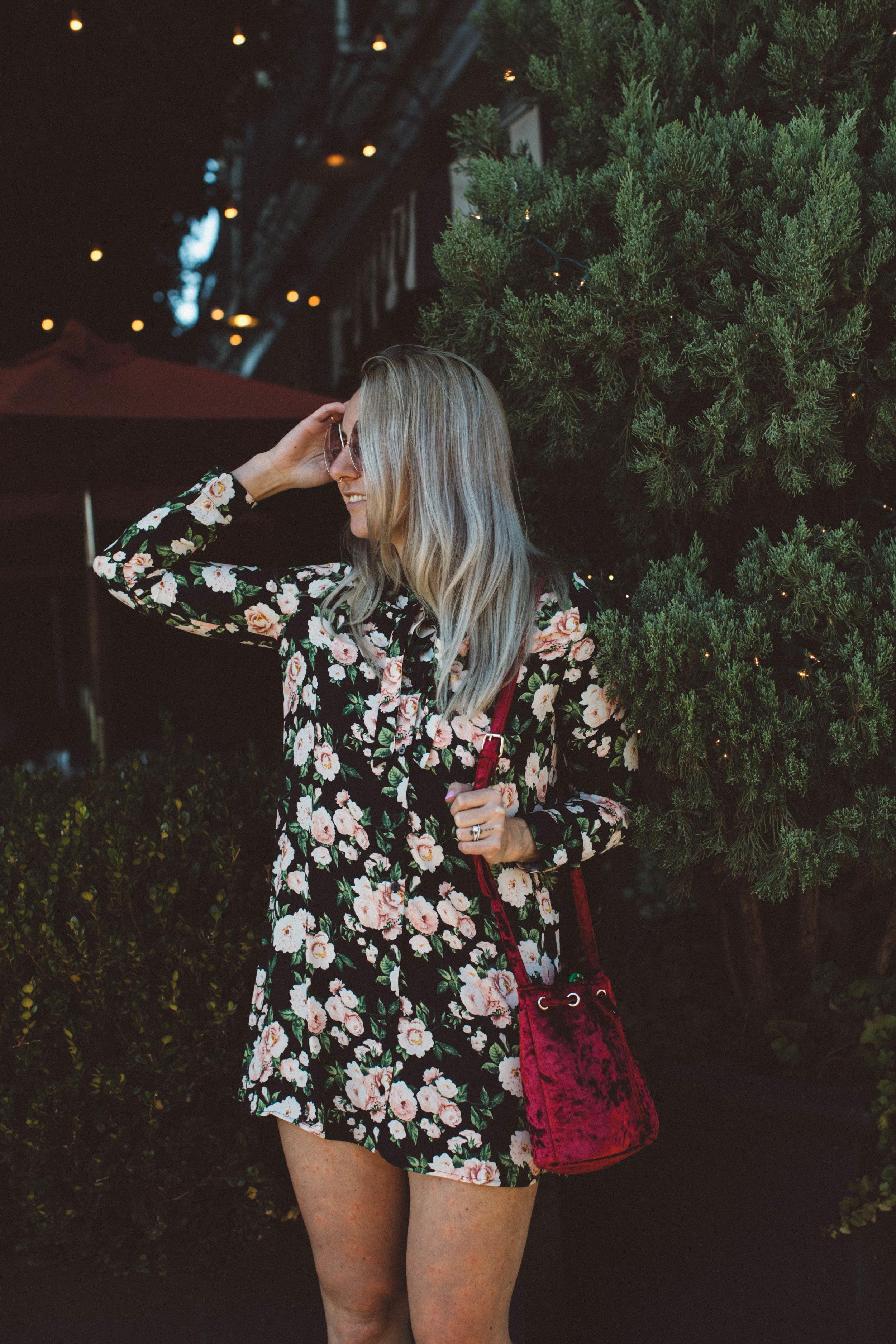 Julia O Test fashion oakland florals winter