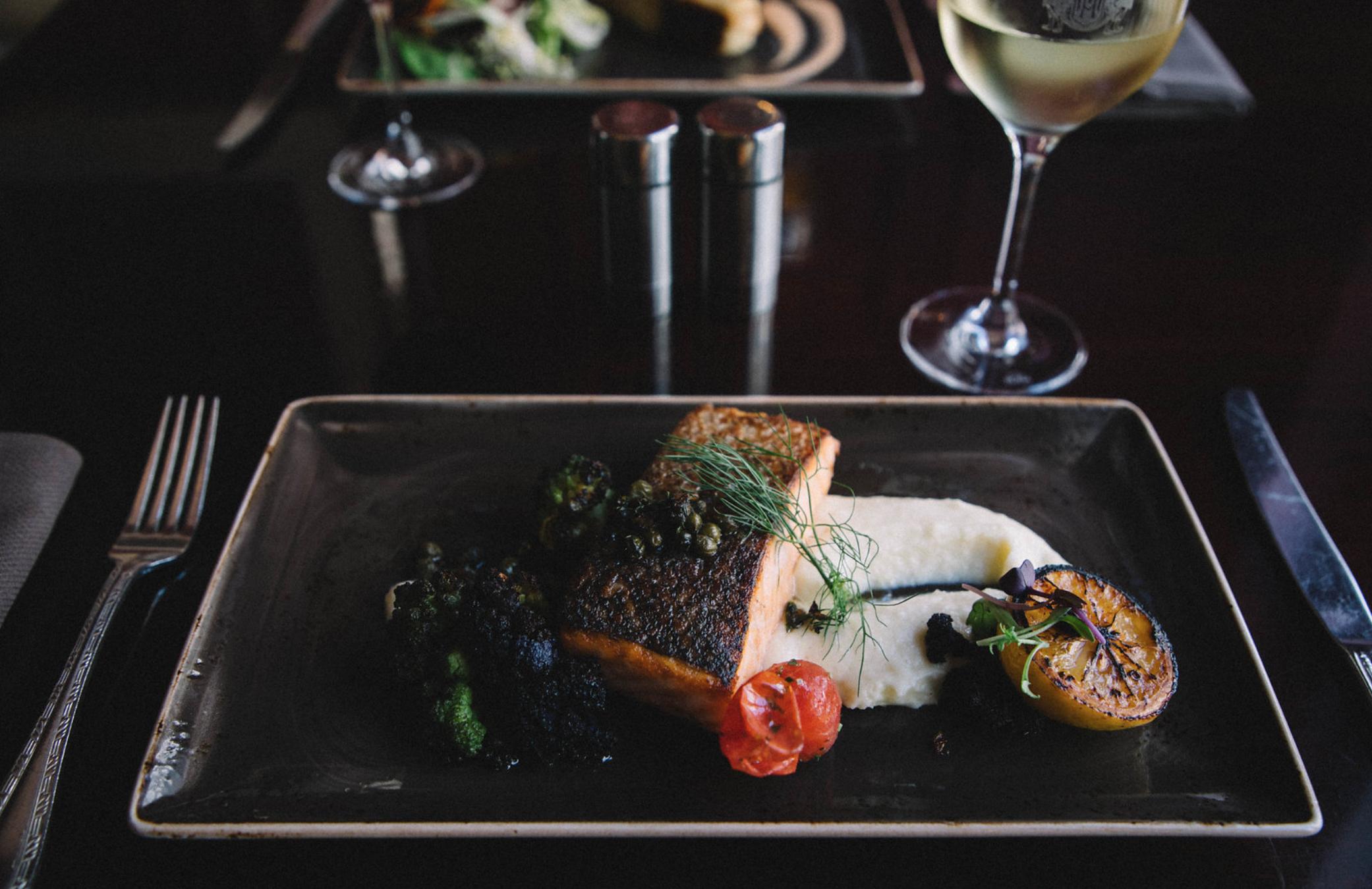 Julia O Test Creative - food photography - nob hill club