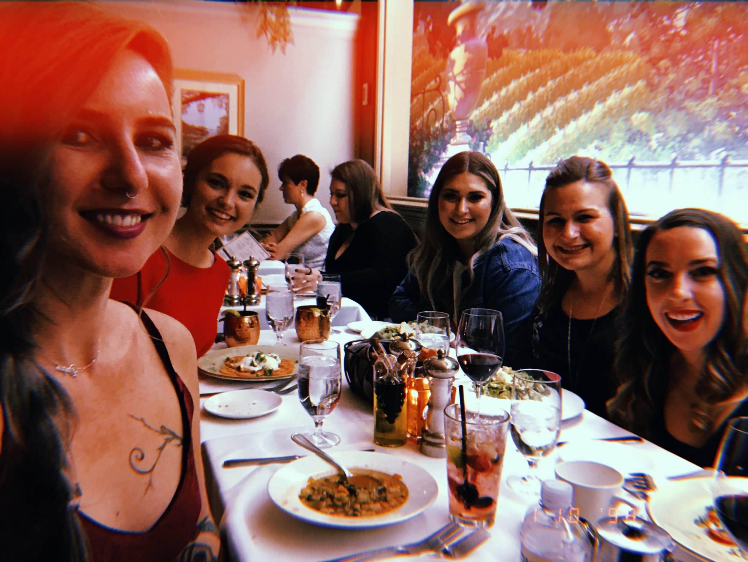 Delicious dinner at La Strada in Eldorado