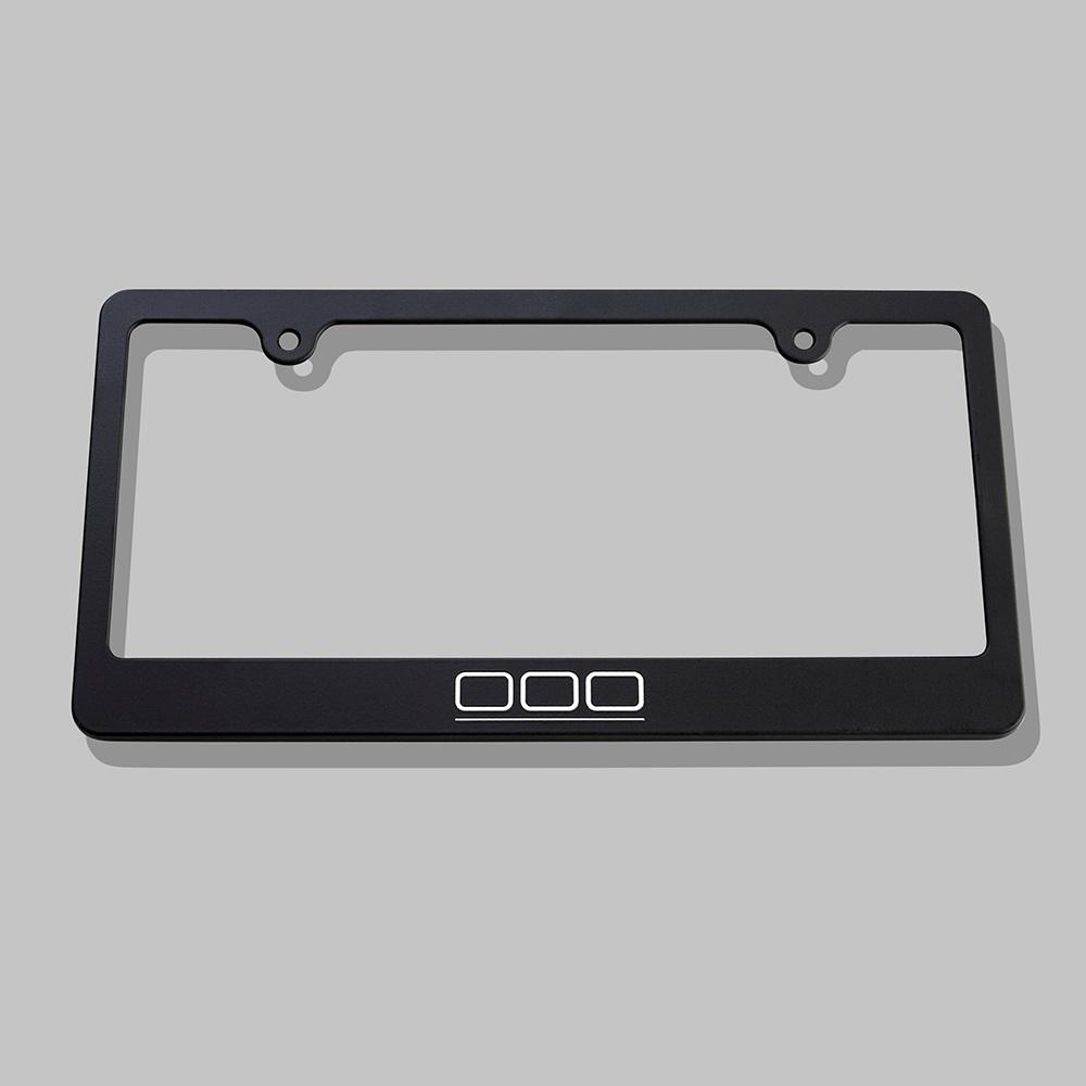 000 License Plate Frame