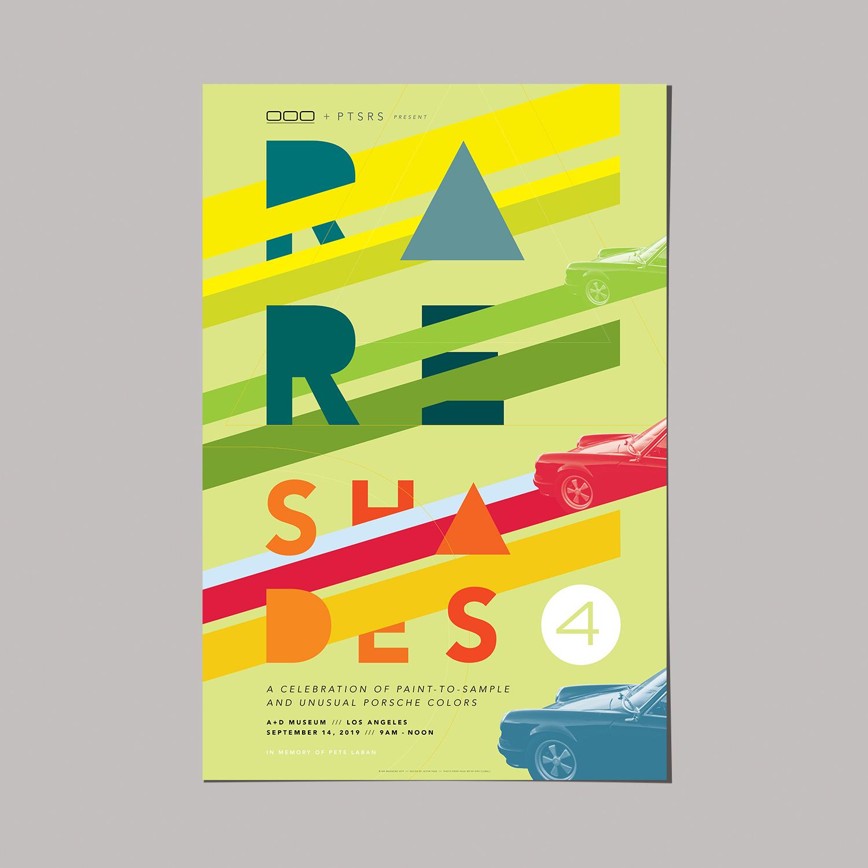 000 Rare Shades Poster