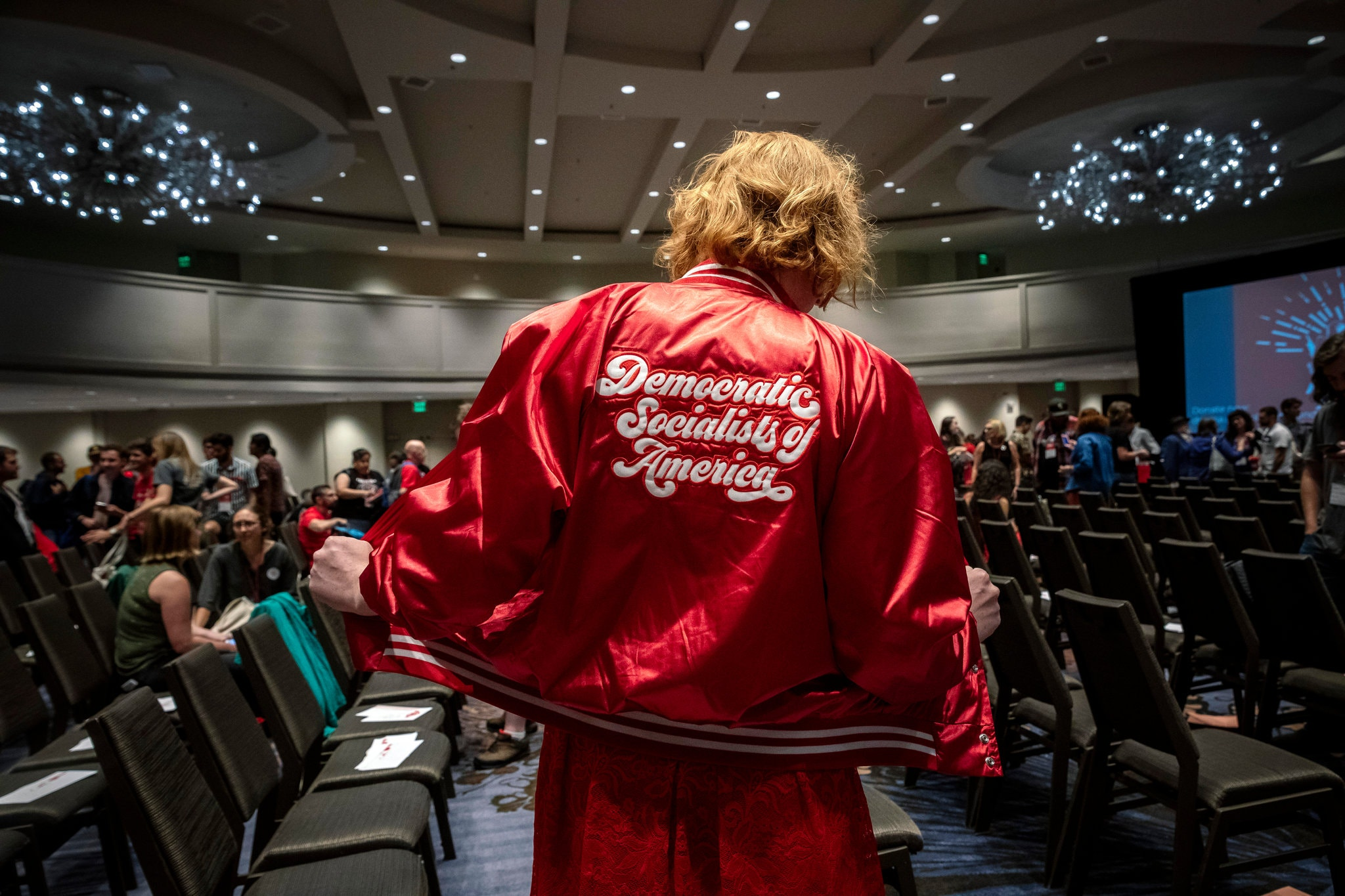 That photo of THAT jacket from the NY Times. Photo by Audra Melton