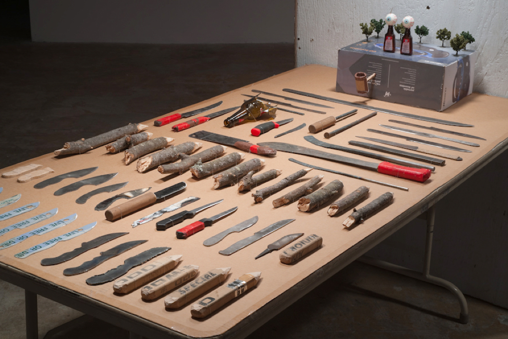 Knife Shop detail