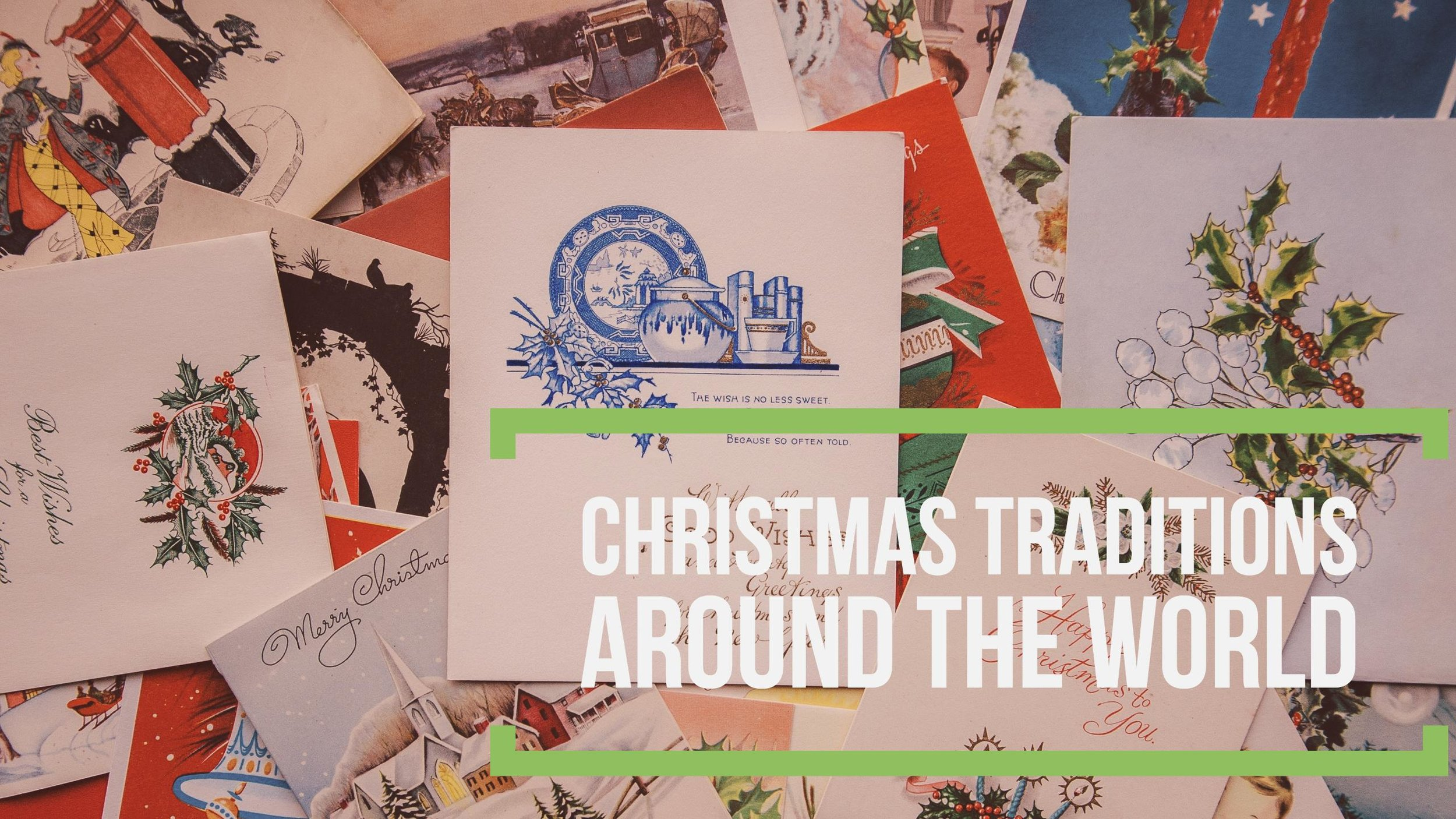 Mini Majer Christmas around the world