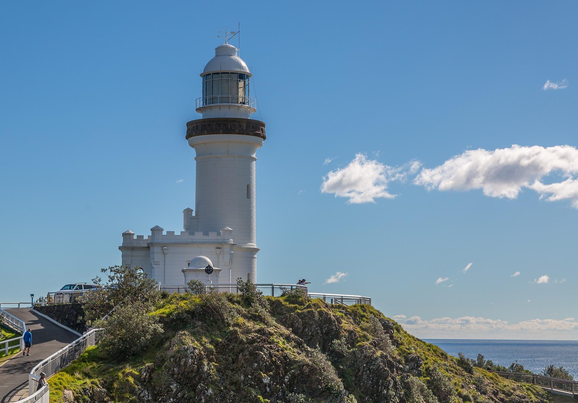 Beautiful Byron Bay light house