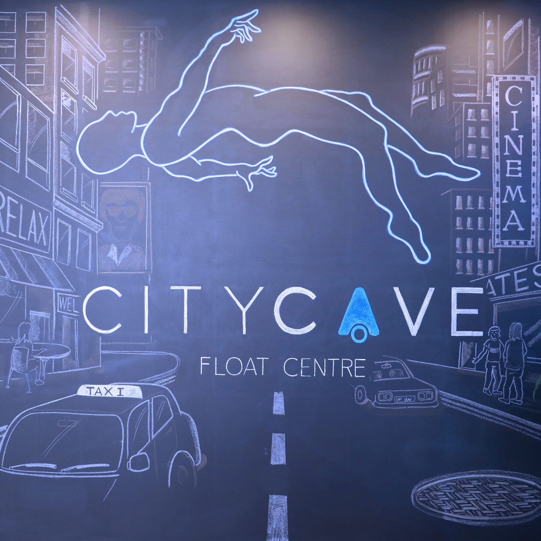 City Cave Mural