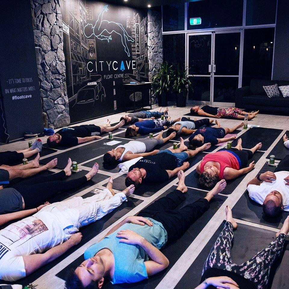 City cave yoga