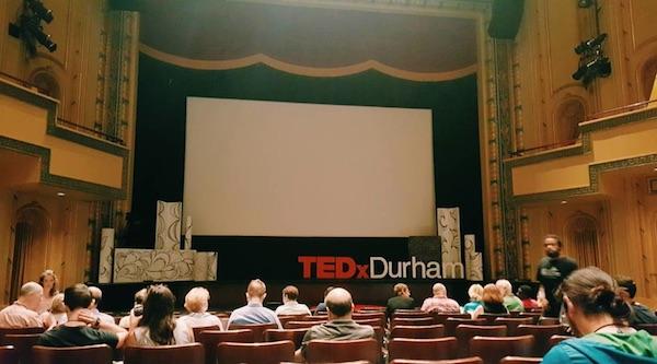 TEDxDurham Stage