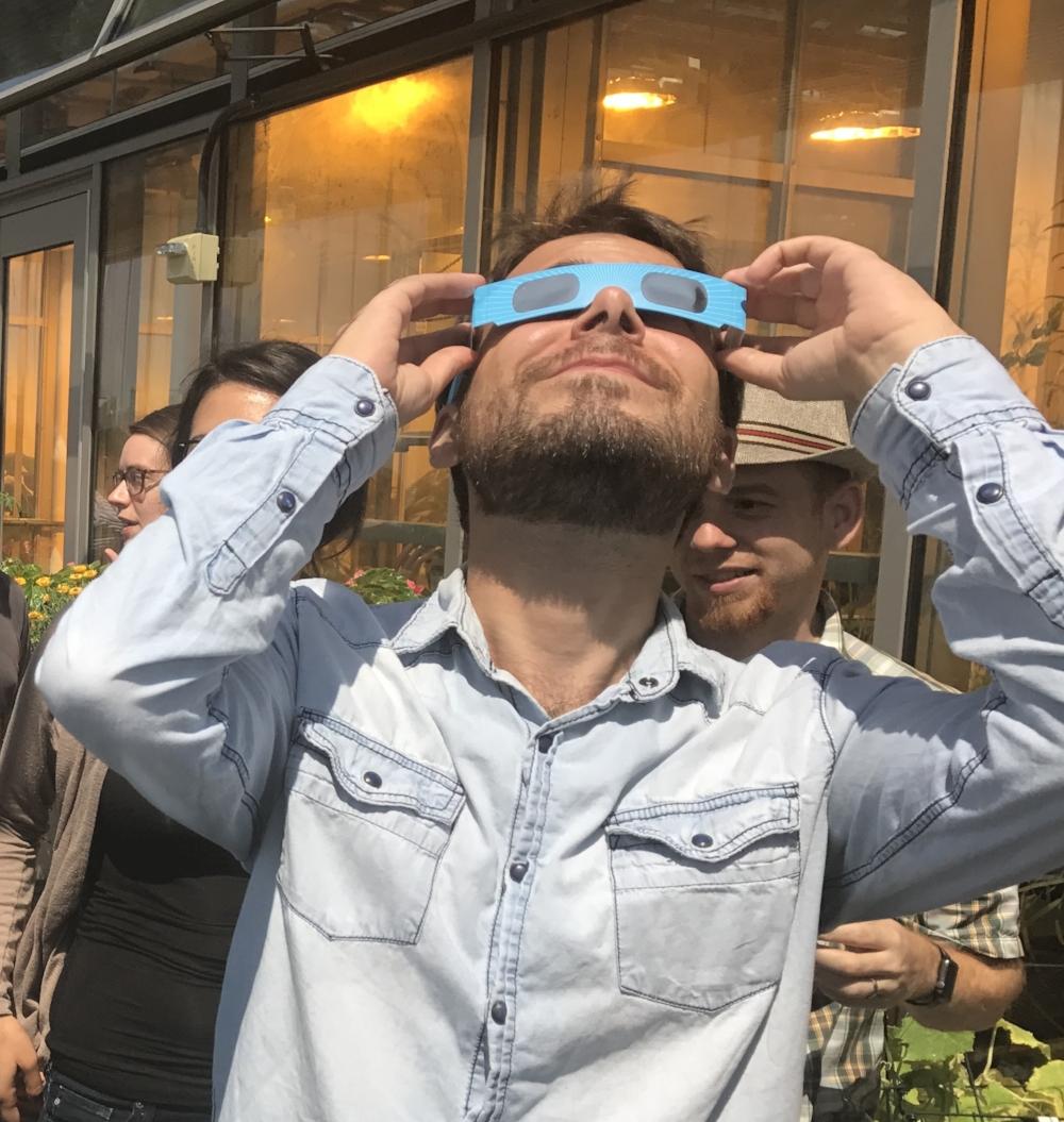 The future's so bright, he's gotta wear shades.