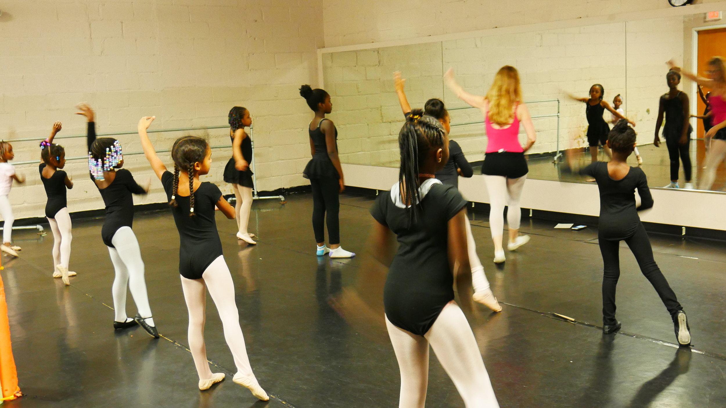 SCB Ballet Classes @ DTS