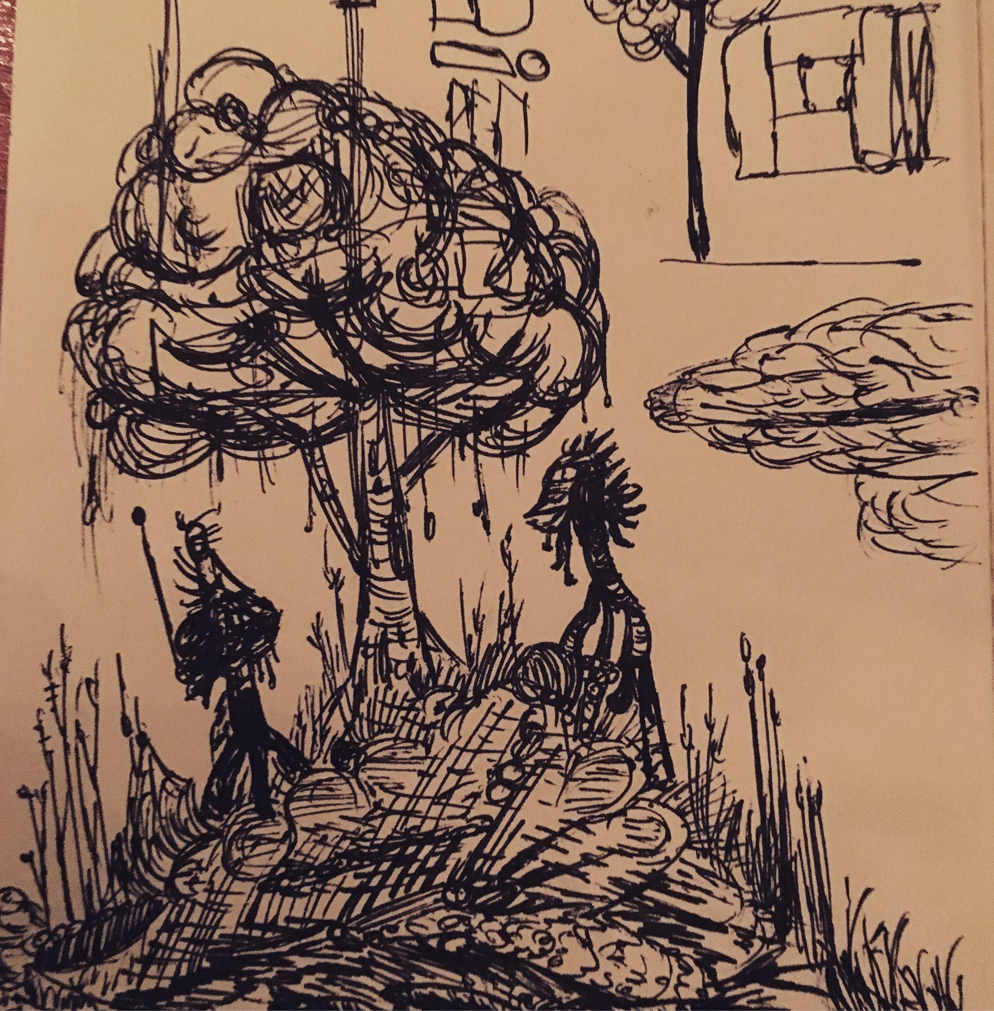 """BY EBEN E. B. BURGOON    """"Doodled."""""""