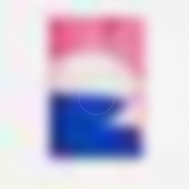 Blue and Pink, Siri Hayes, 2017, Inkjet on cotton rag art paper, 77 x 77cm