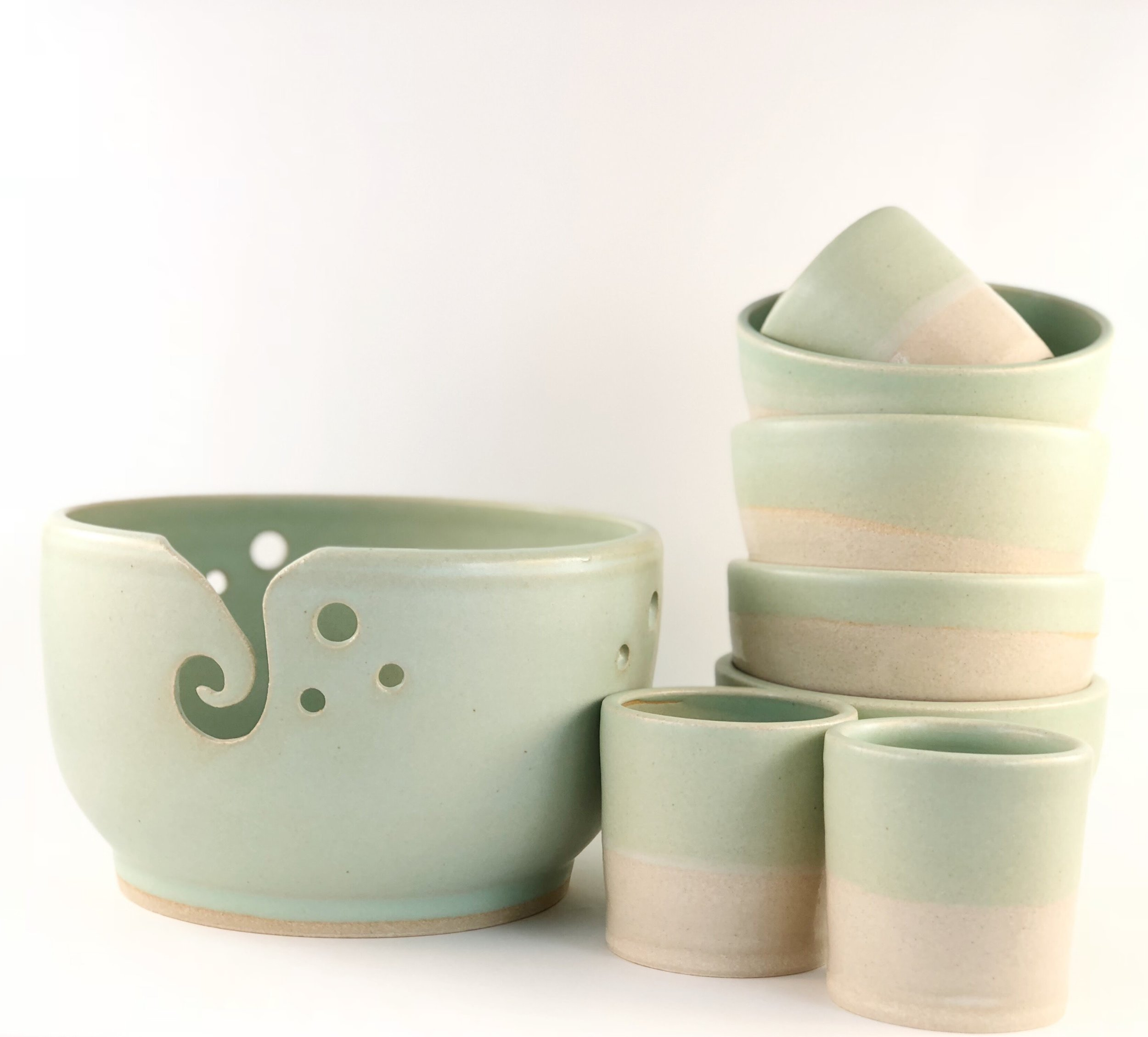 Yarn Bowls, Tot Cups, more Ice Cream