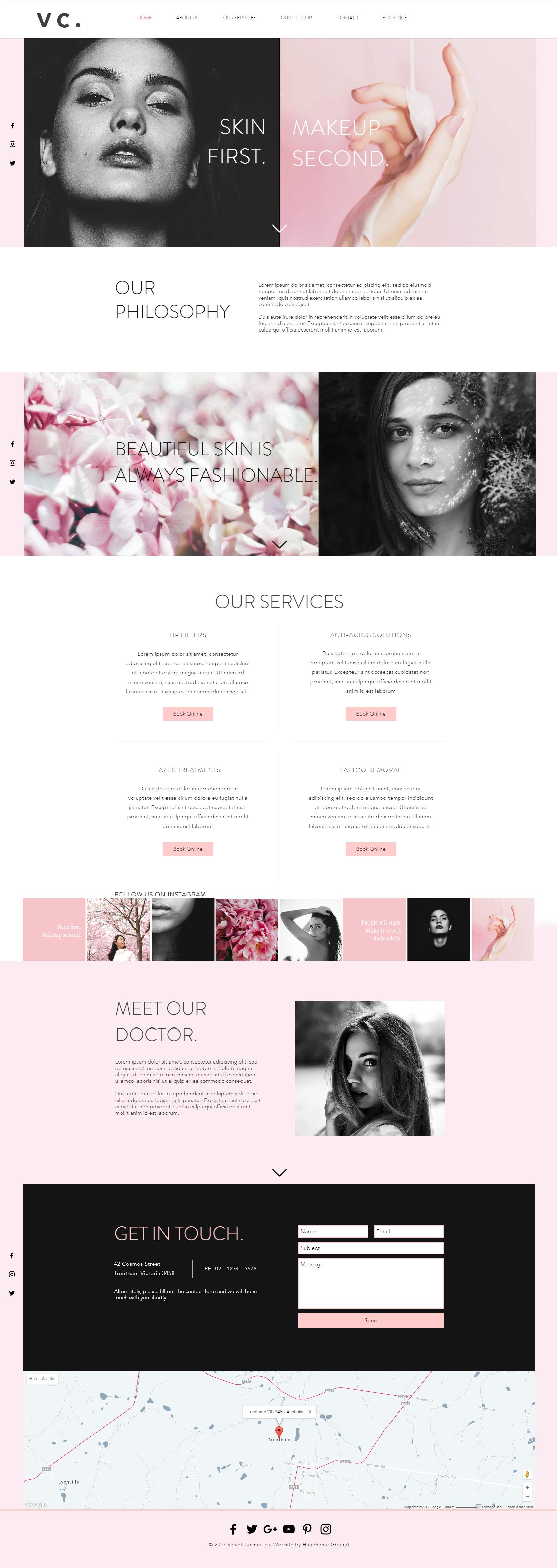 Cosmetic Surgeon Website designed by Handsome Ground Studio.jpg