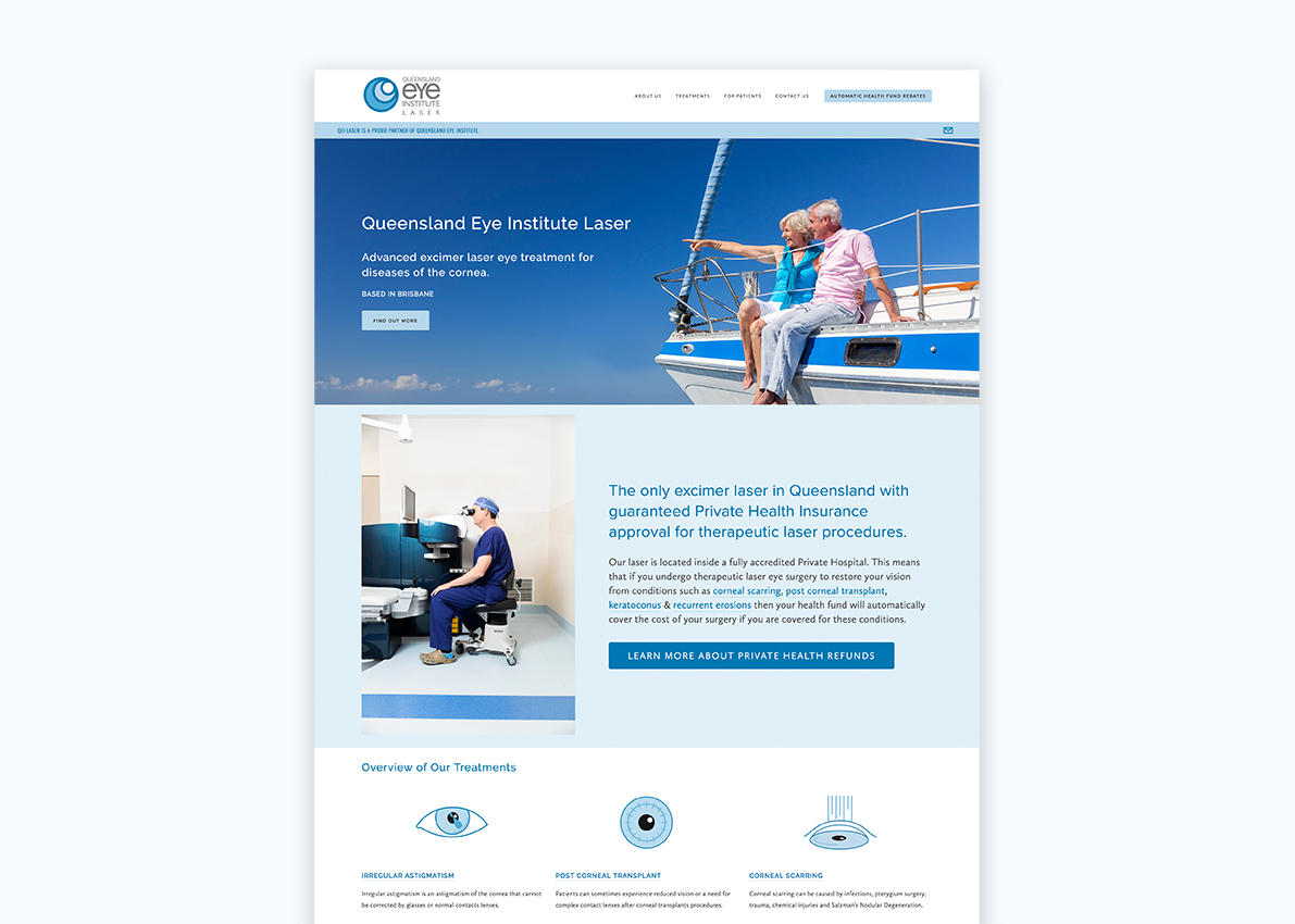 Ophthalmology Clinic Branding & Website Design