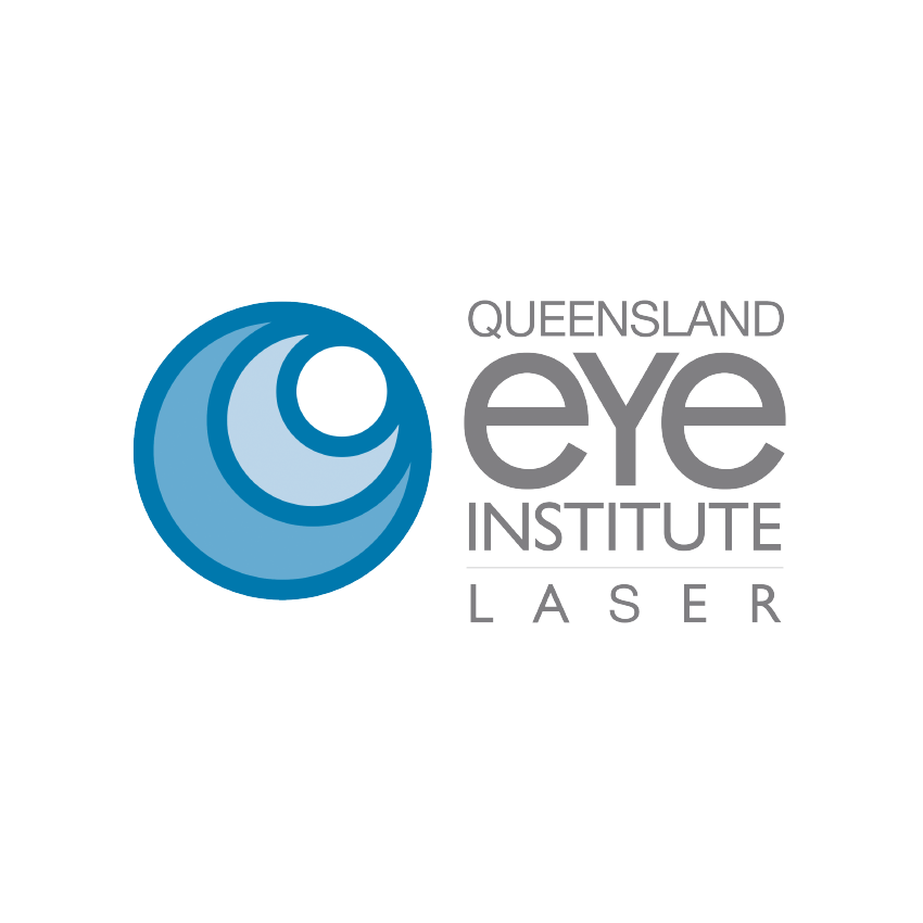 Brand Identity Design for Queensland Eye Institute Laser Ophthalmology Practice based in Brisbane.