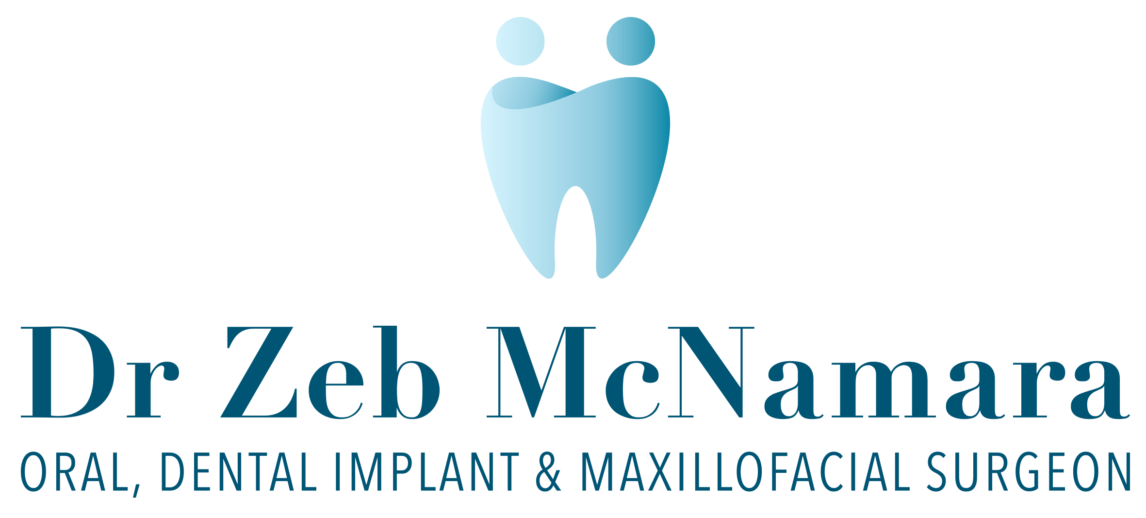 Medical Branding Logo Design for an Oral, Dental Implant & Maxillofacial Surgeon by Handsome Ground Studio.