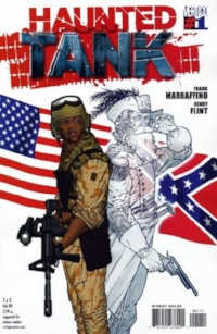 Would an African-American solider in Iraq accept help from the ghost of J.E.B. Stuart? Only in comics!!!!!