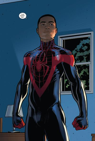 This ongoing series is so empowering! I love Miles Morales