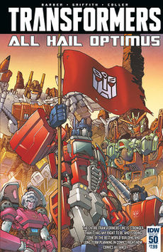 When Optimus takes over to protect the world - shades of totalitarianism, fascism, uber-nationalism. etc. Symbolic.