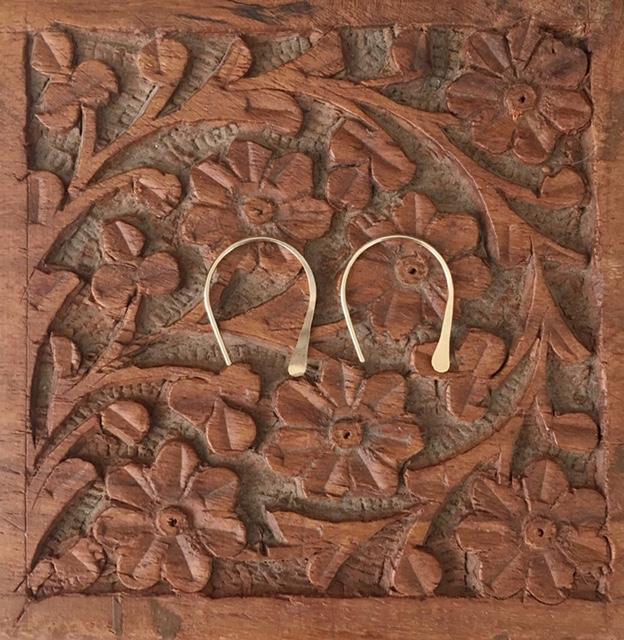 Sierra Winter // Gold Dust Earrings