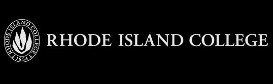 Rhode Island College Logo - Black.png