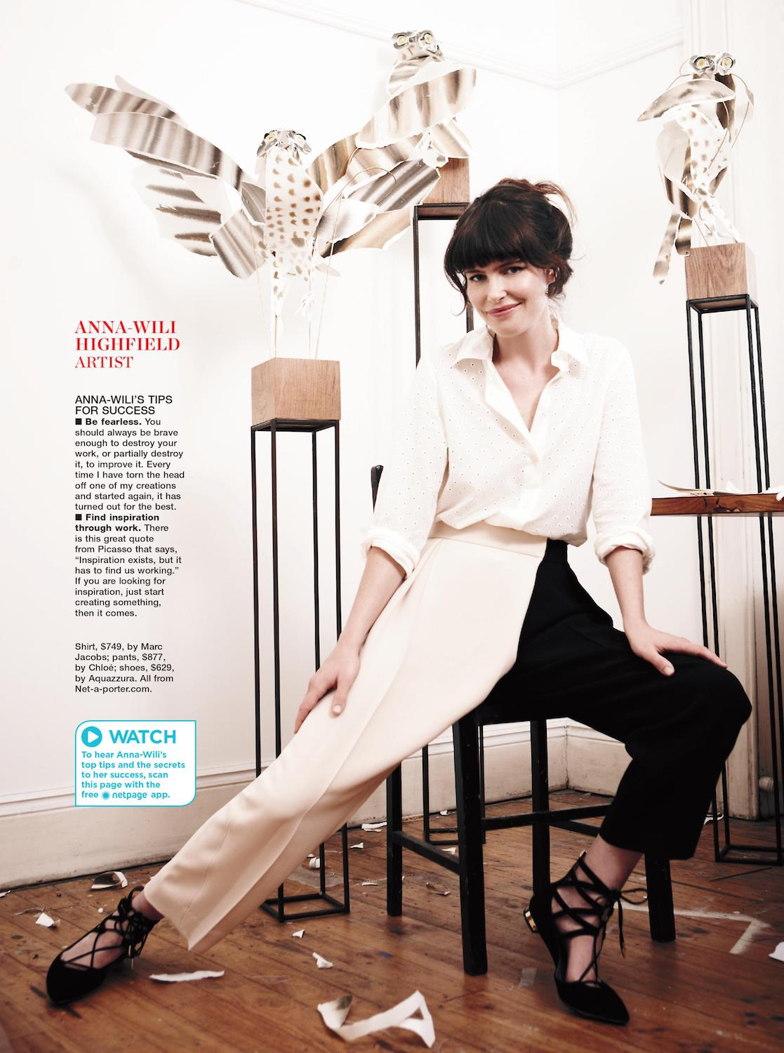 Marie Claire, 2014