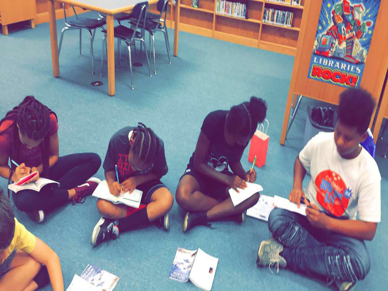 Page Turners: Reading & Adventure Club - Middle School
