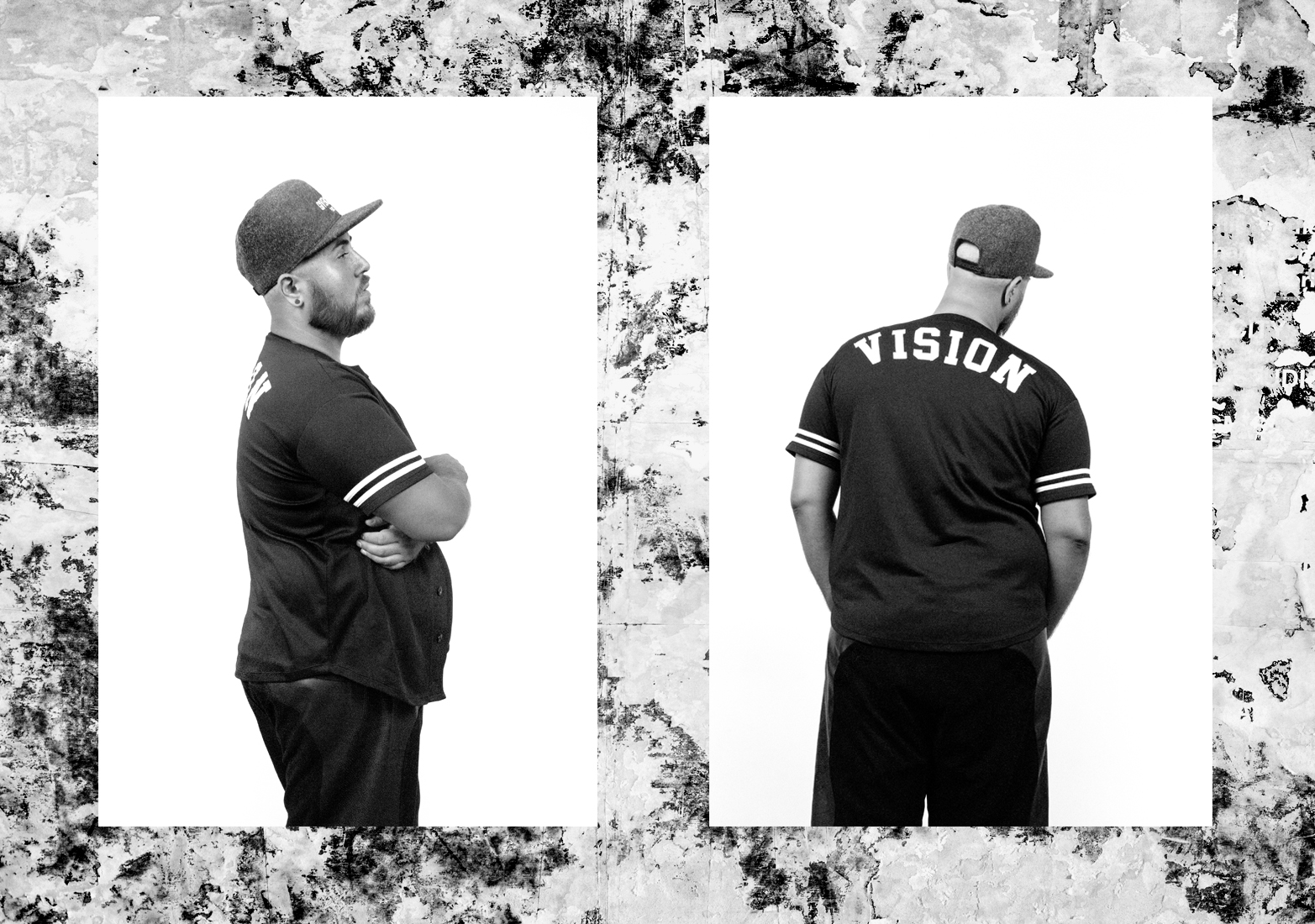 Baseball jersey by Vision Streetwear.