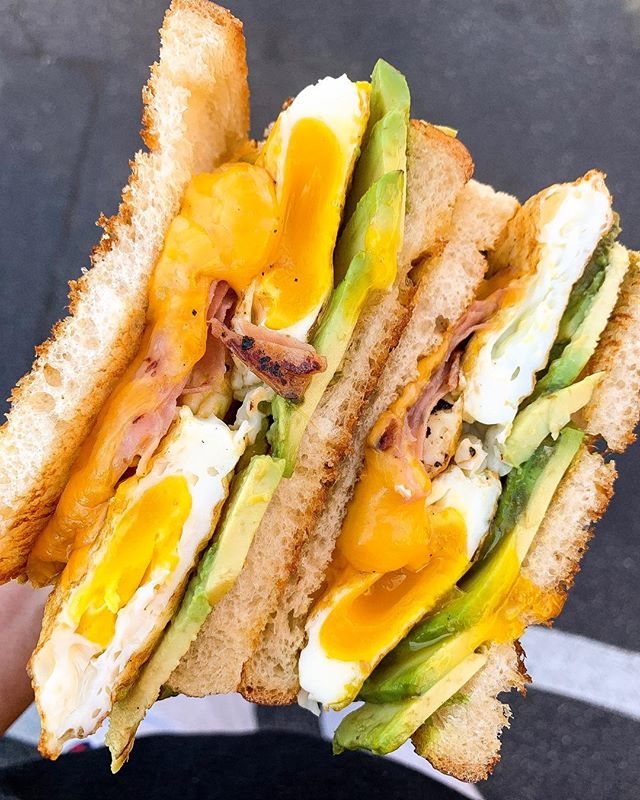 Our classic breakfast melt with avocado.  We like our eggs over-medium, how about you? 📍 The Sandwich Society • • • #foodbeast #foodie #dinela #tryitordiet #cheese #eatfamous #dailyfoodfeed #devourpower #tastingtable #sandwiches #foodporn #delicious #breakfast #f52grams #eatmunchies #nomnom #foodblogger #EEEEEATS #buzzfeedfood #grubzone #zagat #foodiefeature #foooodieee #feastagram #yelp #yelpoc #feastonthese #foodnetwork #abc7eyewitness