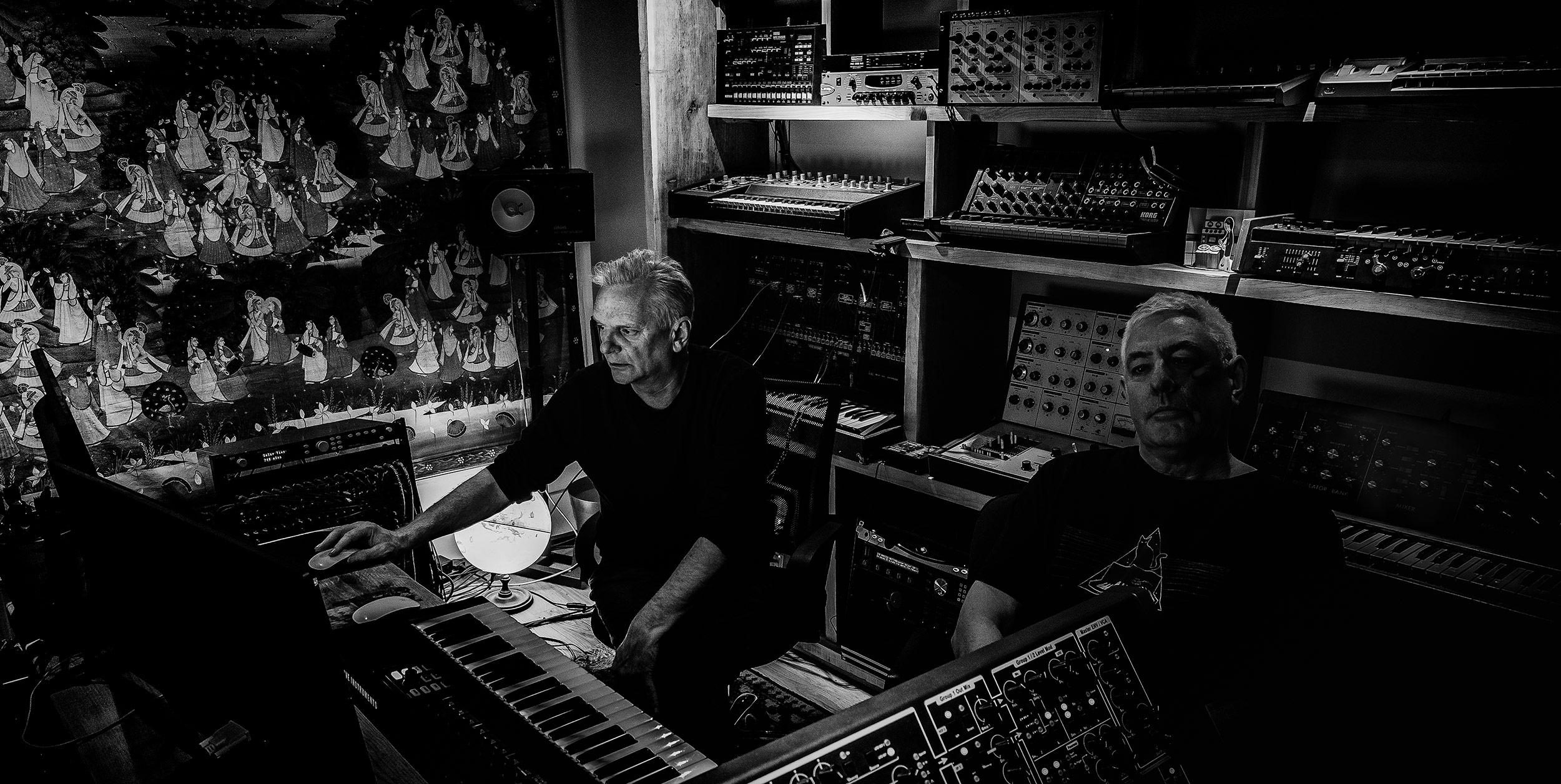 Garry Hughes and Harvey Jones
