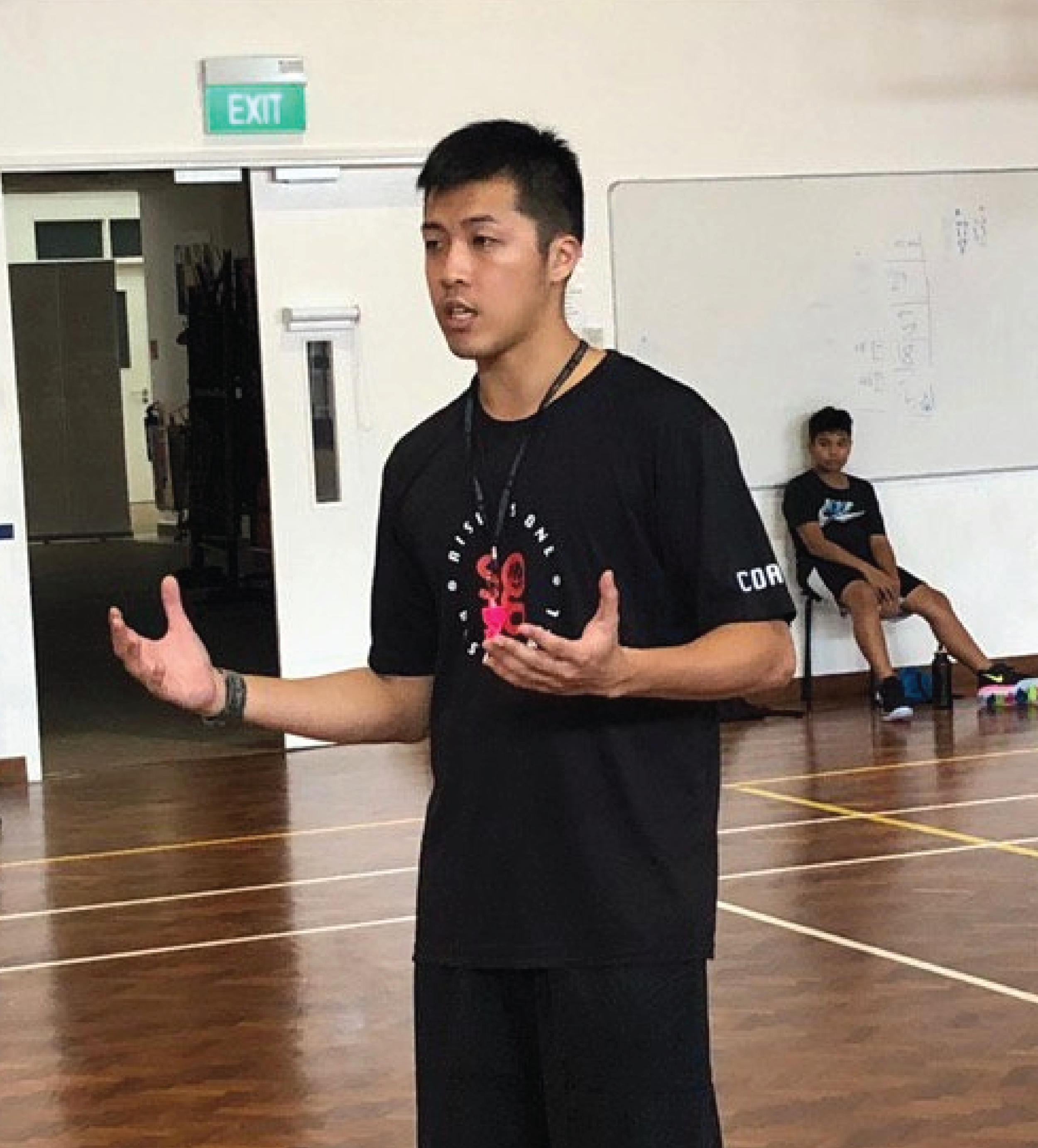 GARY YEO - Current Teams: Academy Coach, Naval Base Sec Head Coach, Stingers U15 Boys.Playing Career: - Singapore Comb. Uni. '18- Participated in Thailand Basketball Super League '17- Participated in Malaysia Pro League '19- Representing Singapore for Amway 3x3 in Japan '19Coaching Experience: - 5 years. - 2 x South Zone Finals (Champions in '19)- National Top 8 in '18