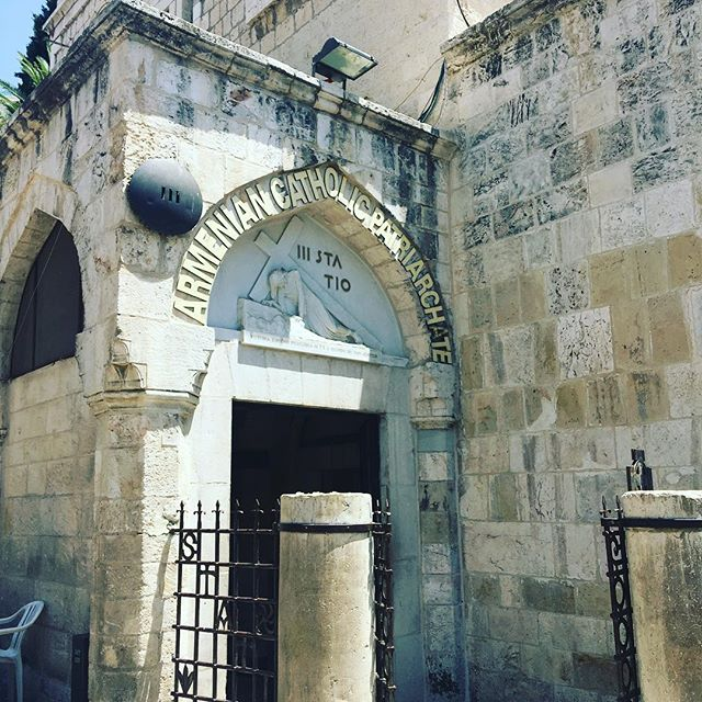 """So they took Jesus, and He went out, bearing His own cross, to the place called the Place of the Skull, which is called in Hebrew, Golgotha."" ‭‭JOHN‬ ‭19:17‬ ‭AMP‬‬ Via Dolorosa . . . . . #viadolorosa #hope #hopeinsideout #goodfriday #wayofthecross #realhope #savior #crucifixion #thecross #jesus"