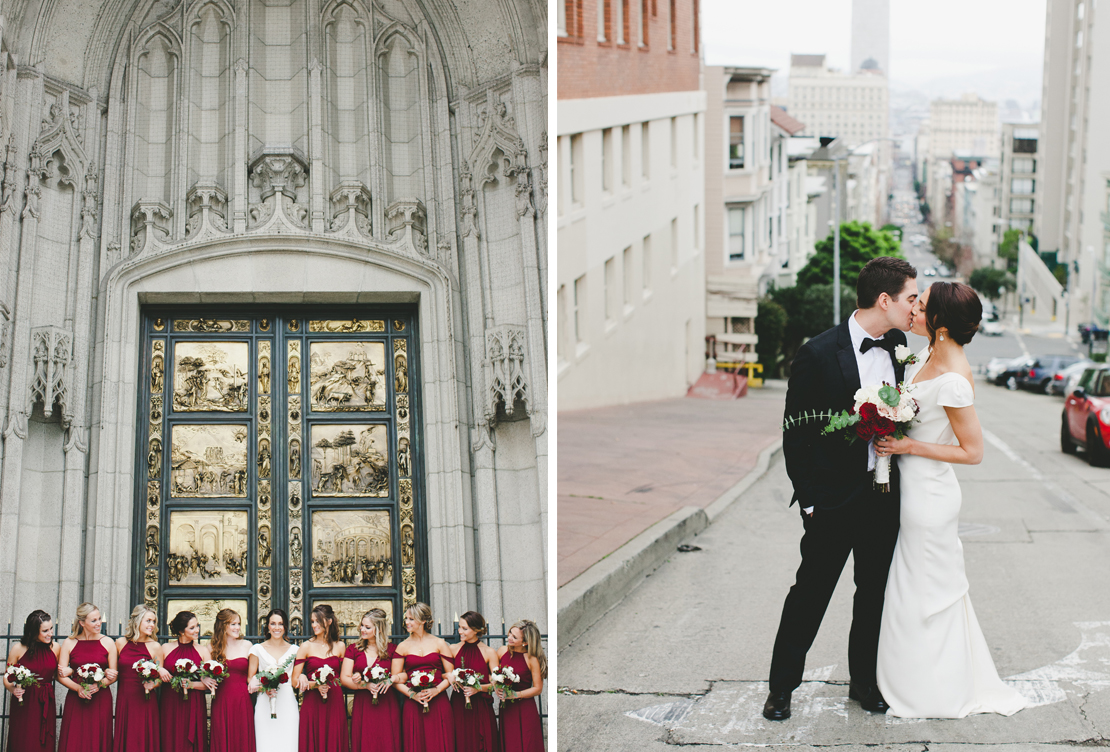 Megan and Nick | Winter Urban Winery Wedding