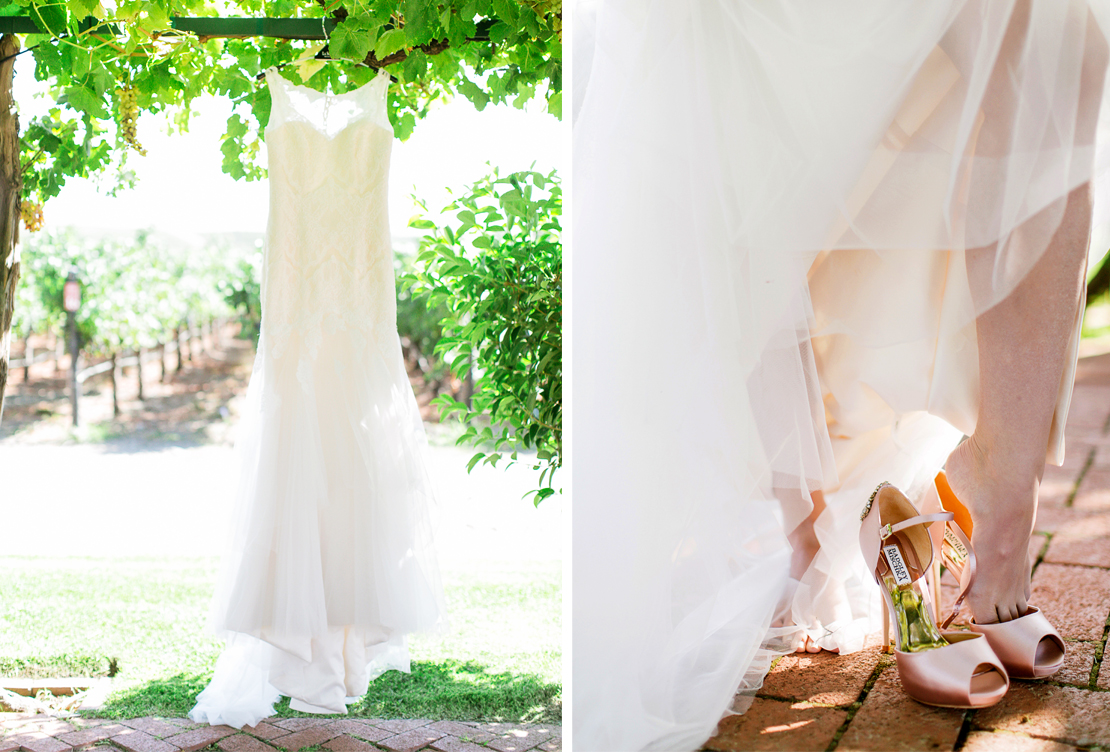 Styled Shoot | Romantic Blush and Rose Gold Winery Wedding