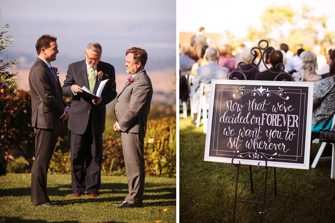 Andres and Michael | Thomas Fogarty Winery Wedding