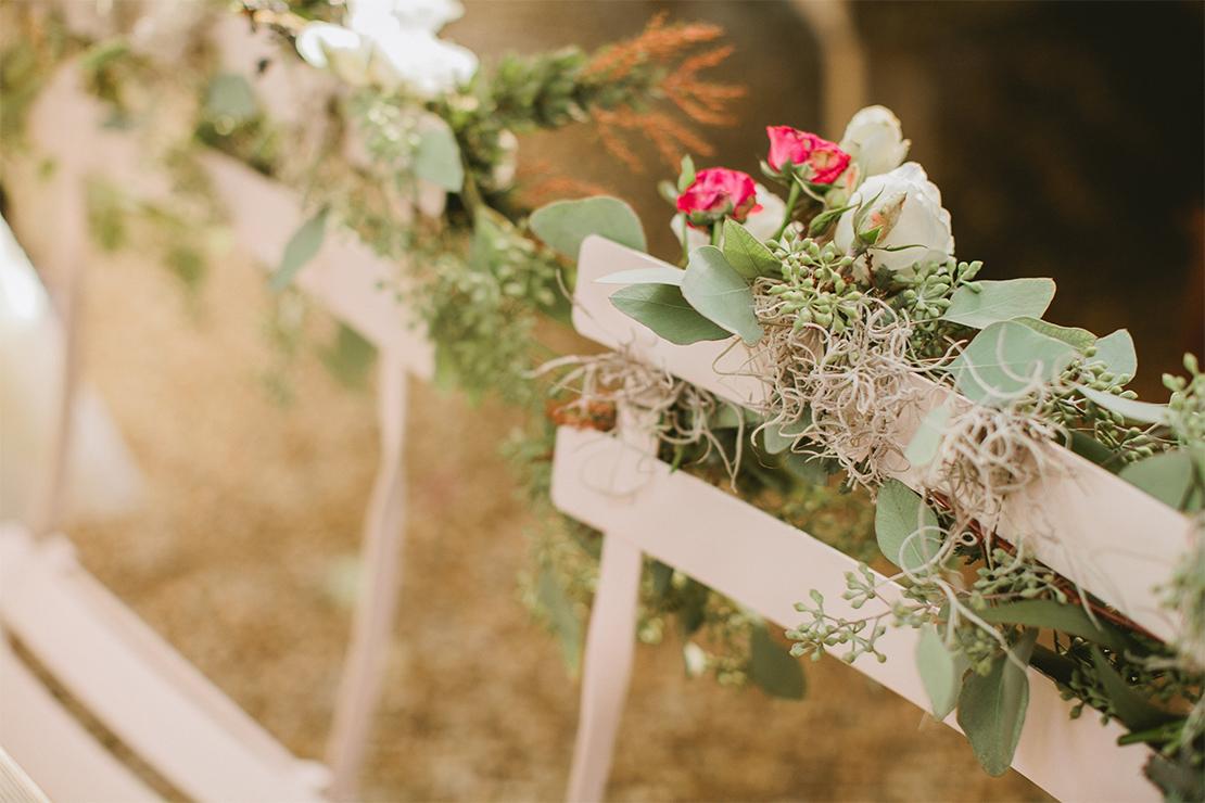Vintage Botanical Wedding | Flora Grubb Gardens Styled Shoot