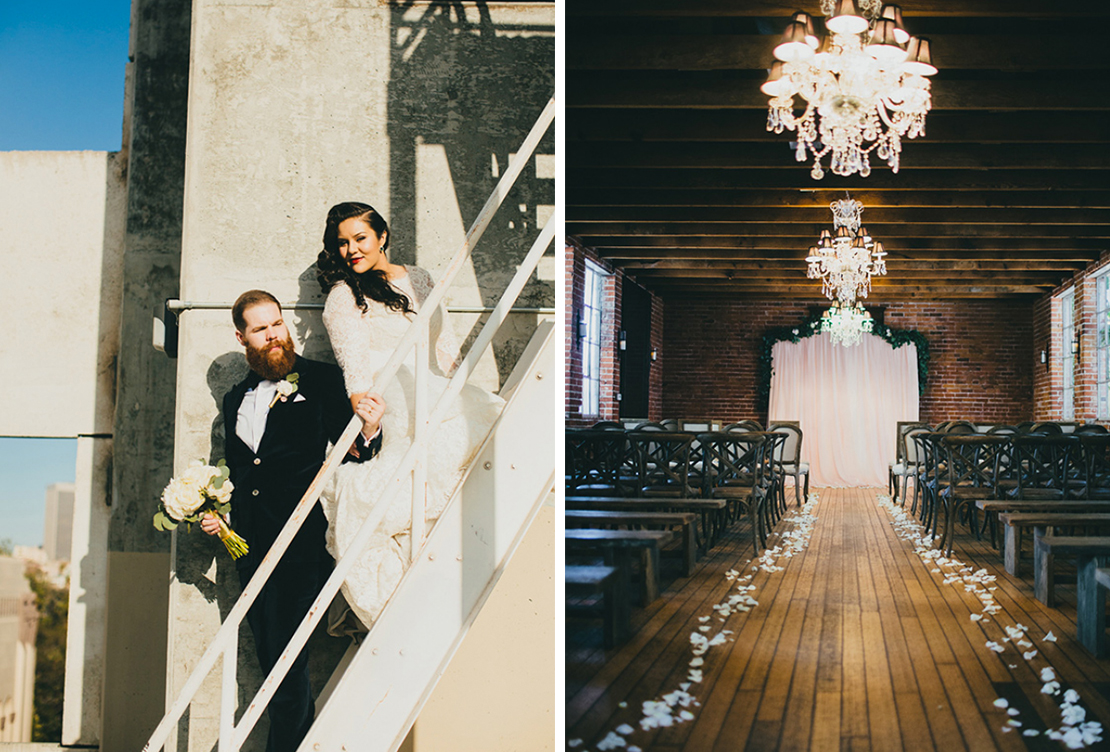 Nancy and Trenton | Carondelet House Los Angeles Wedding