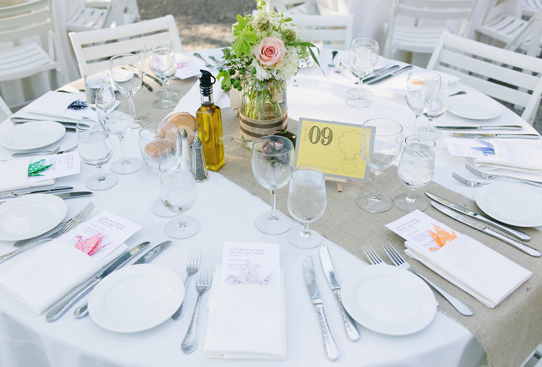 Abigail and Trung | Marin Art and Garden Center Ross Wedding