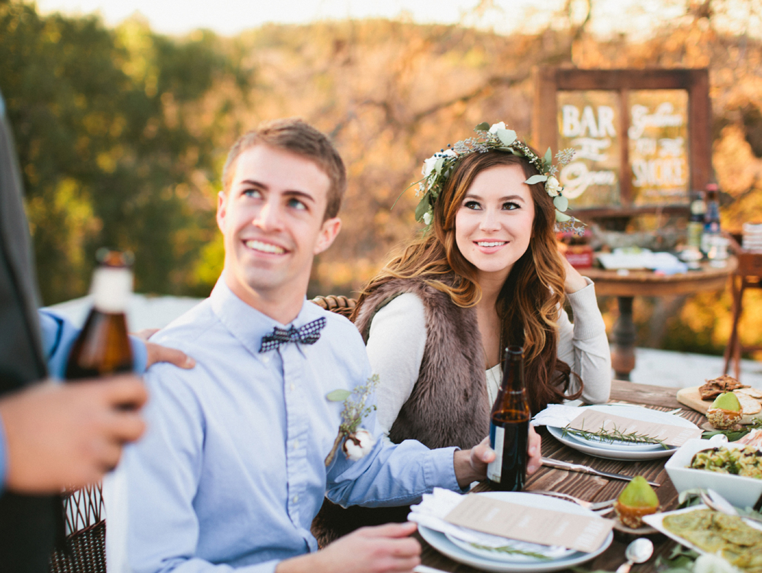 Organic Rooftop Wedding | Styled Shoot