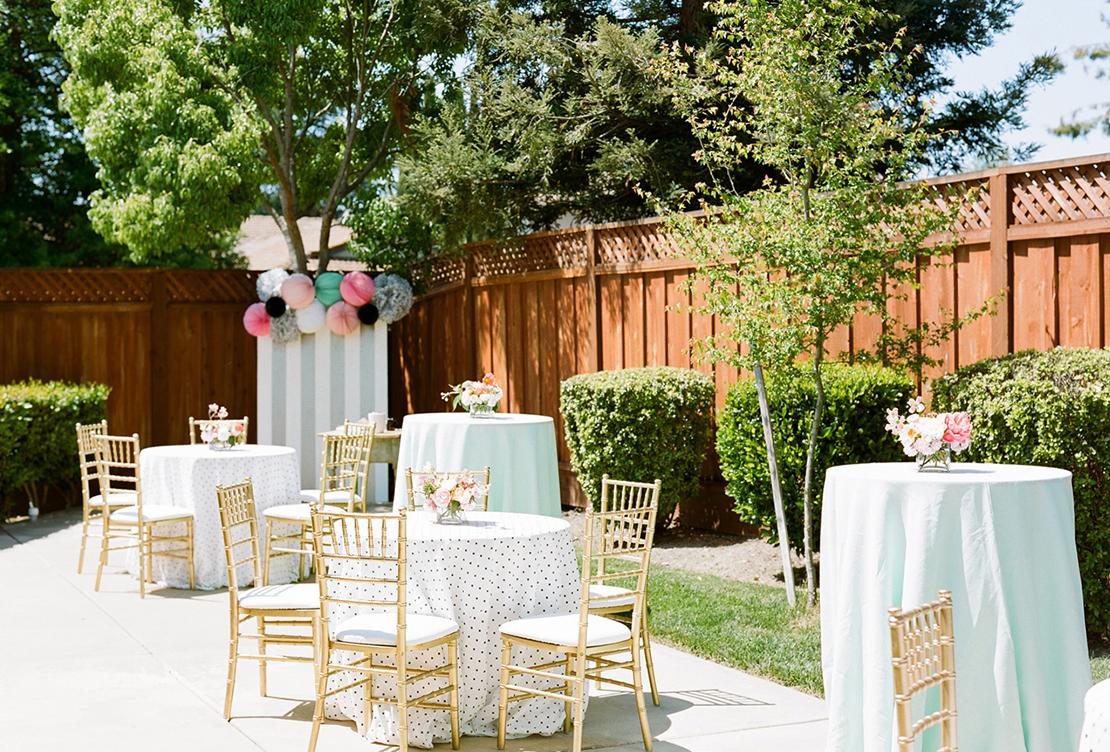 Zoe's First Birthday | Garden Party