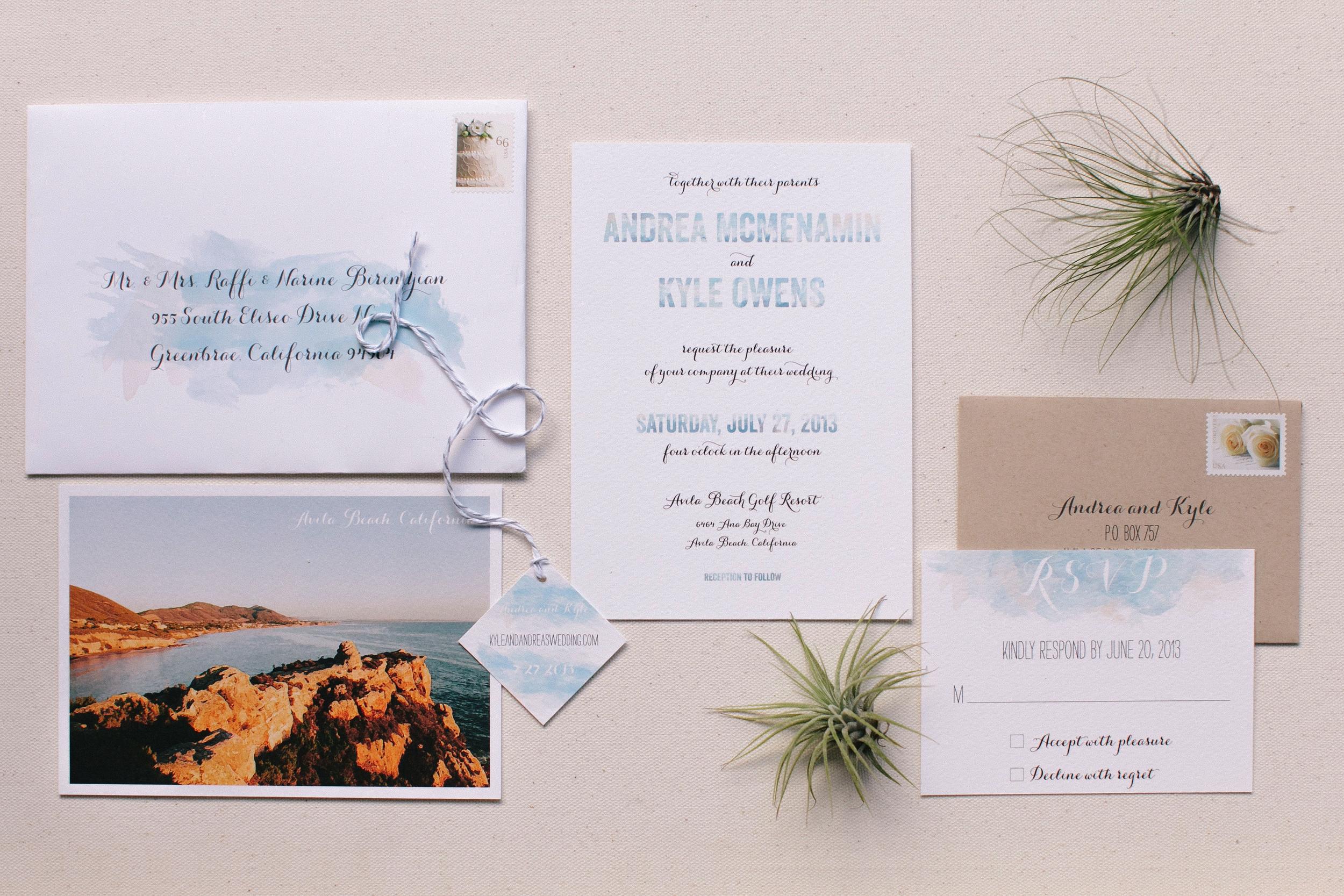 Andrea and Kyle | Avila Beach Wedding