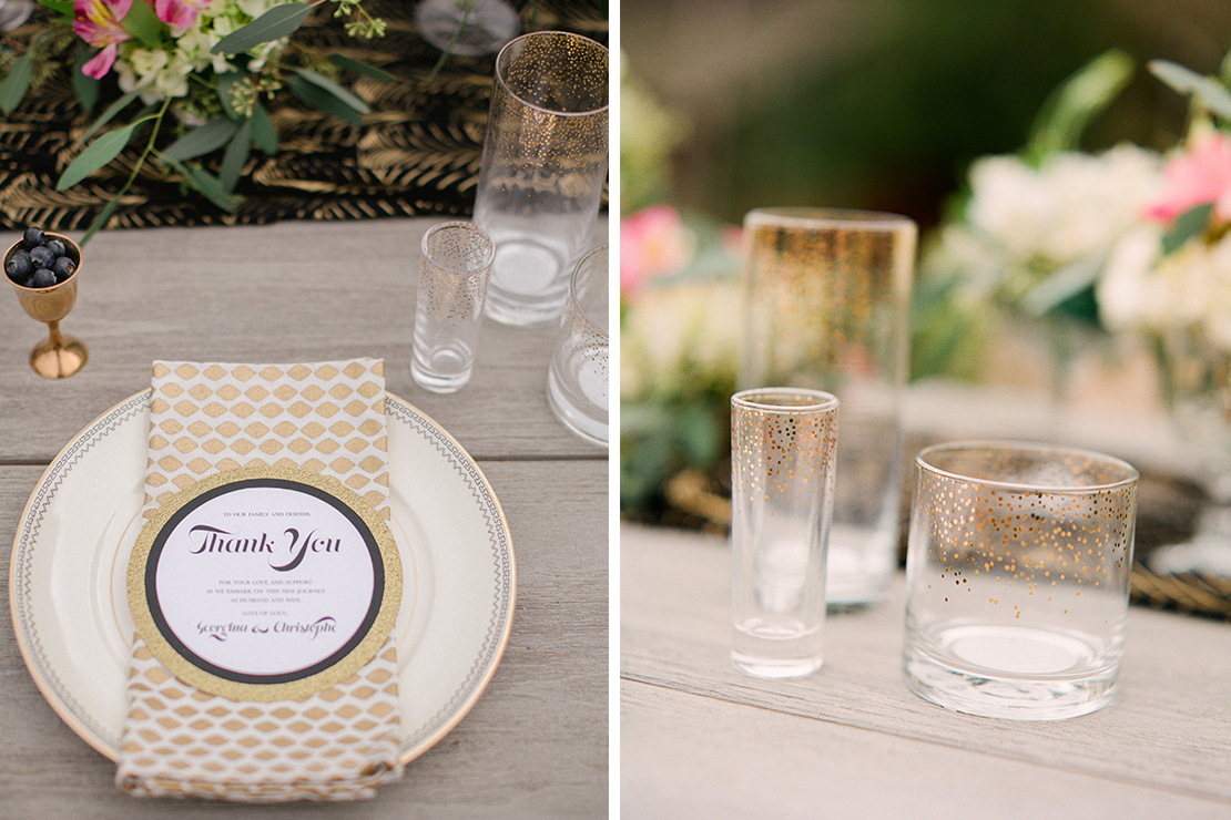 Black and Gold Wedding | Styled Shoot