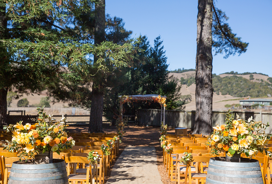 Kate and John | Rancho Nicasio Bar and Restaurant Wedding
